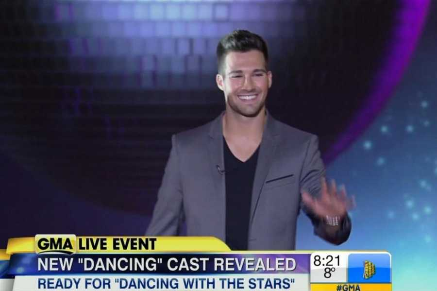 """Actor and singerJames Maslow.The Nickelodeon star and """"Big Time Rush"""" singer has headlined sold-out tours across the globe.Pro Partner: Peta Murgatroyd"""