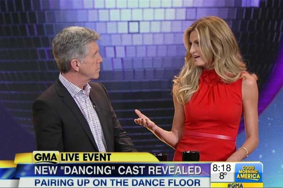 The cast for the latest season of Dancing with the Stars was revealed Tuesday morning. Season 18 debuts Monday, March 17.