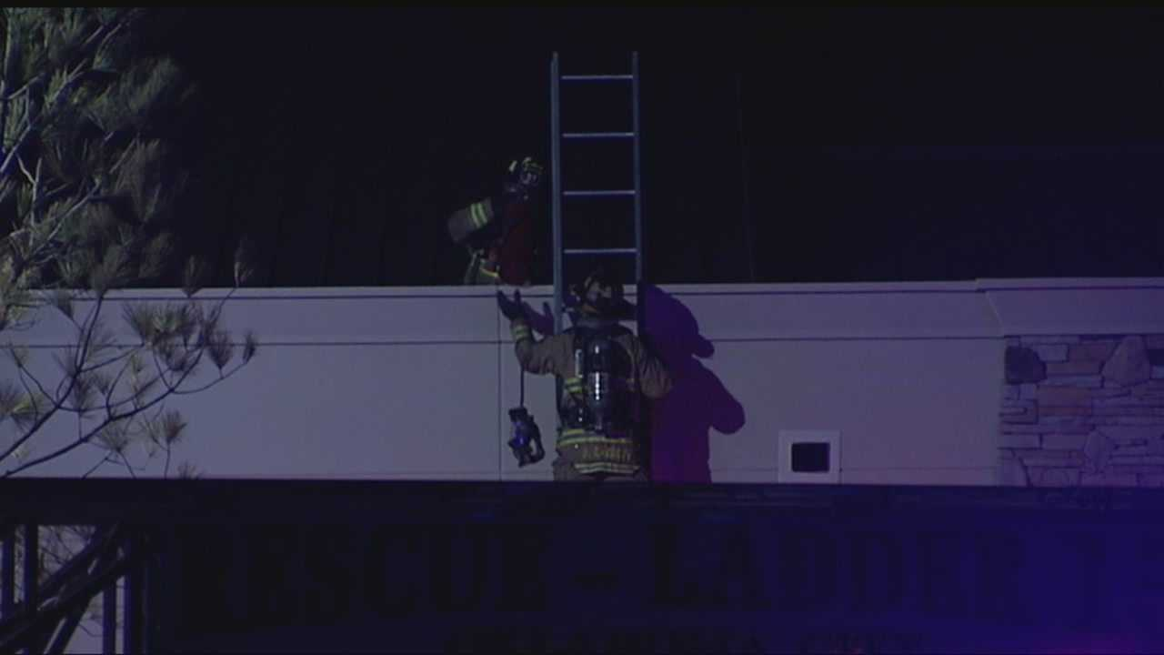 img-Air conditioner fire damages LifeChurch tv