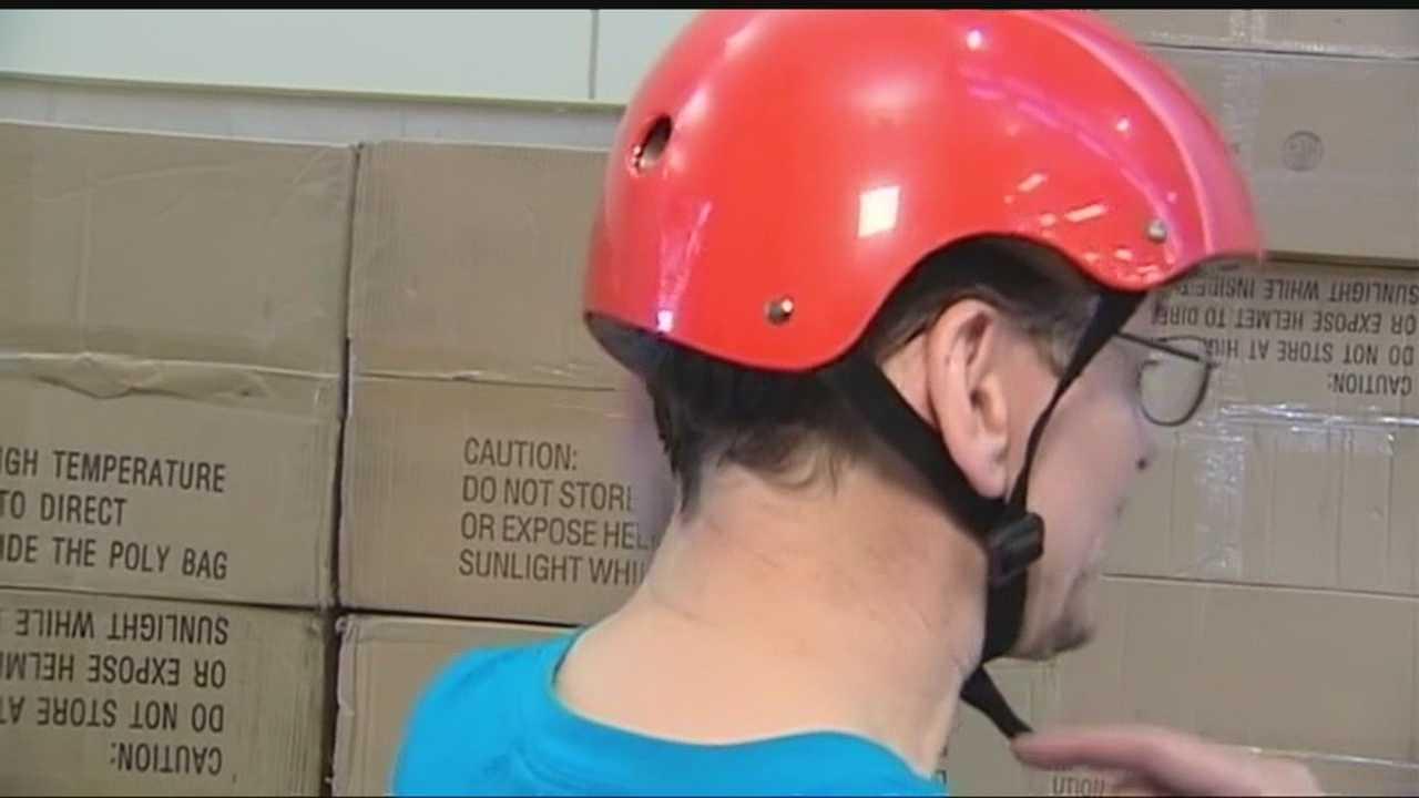 Moore schools will receive helmets
