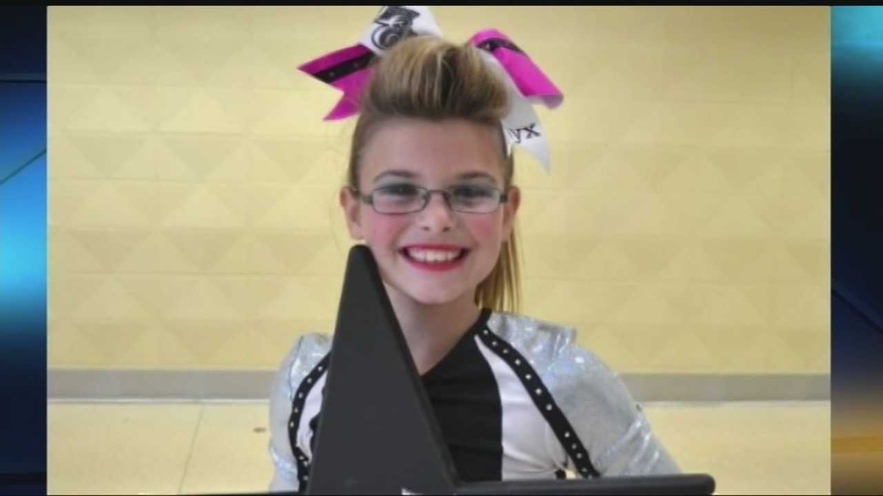A cheer family is coming together to help a pre-teen's family after her death following a car accident.