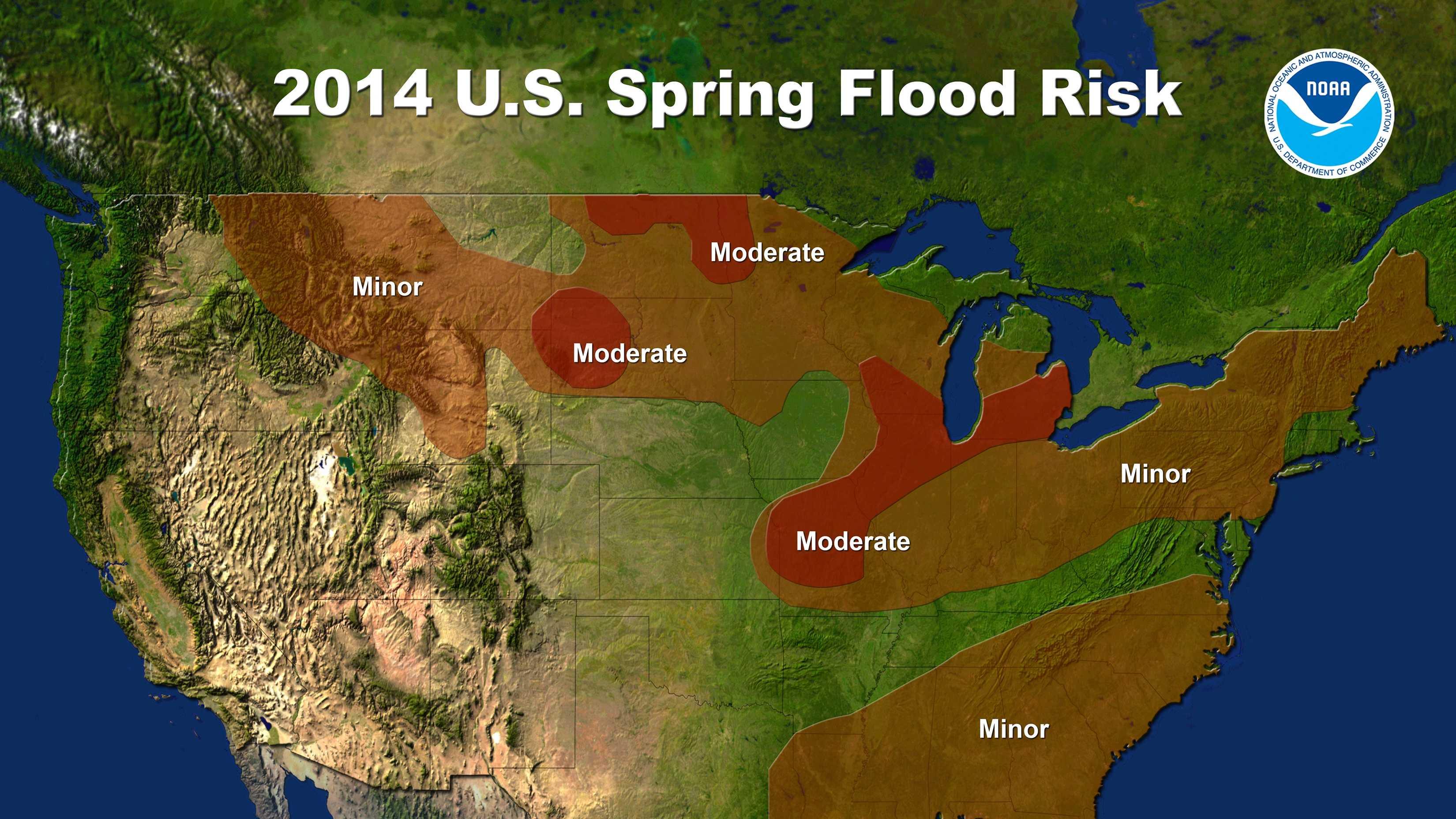 2014 U.S Spring Flood Risk