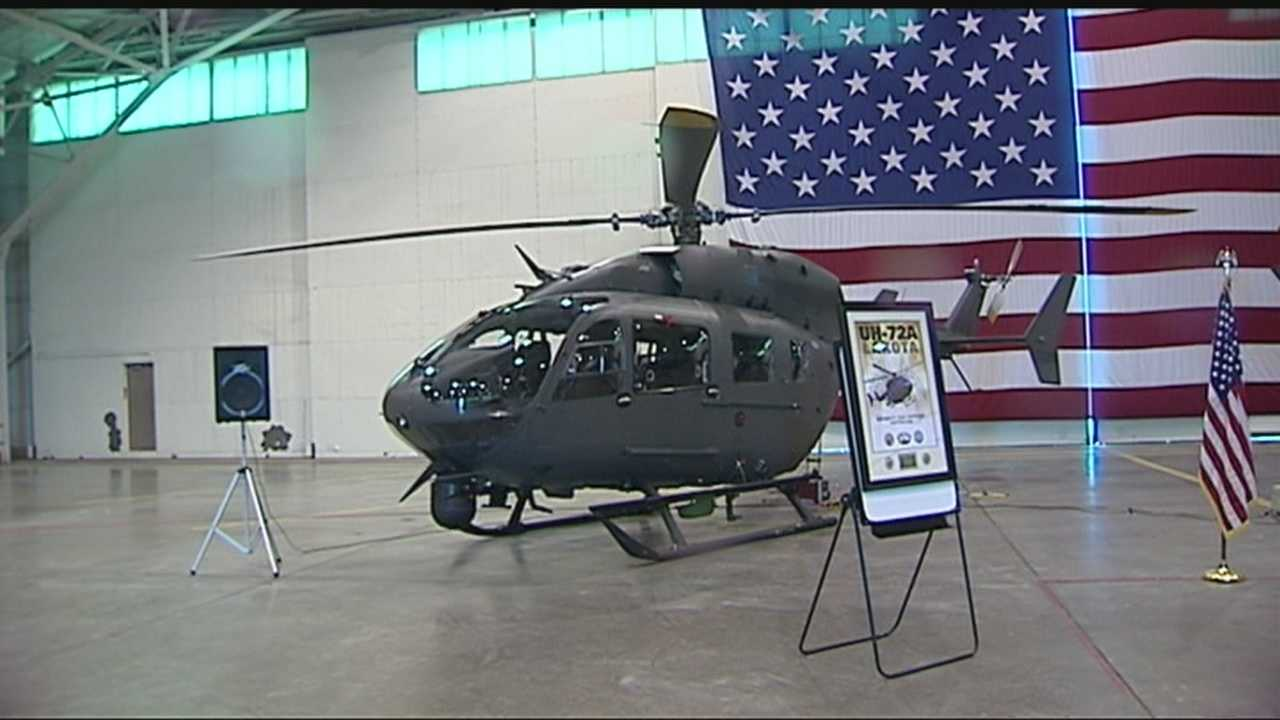 The Oklahoma National Guard has just unveiled its brand new helicopters.