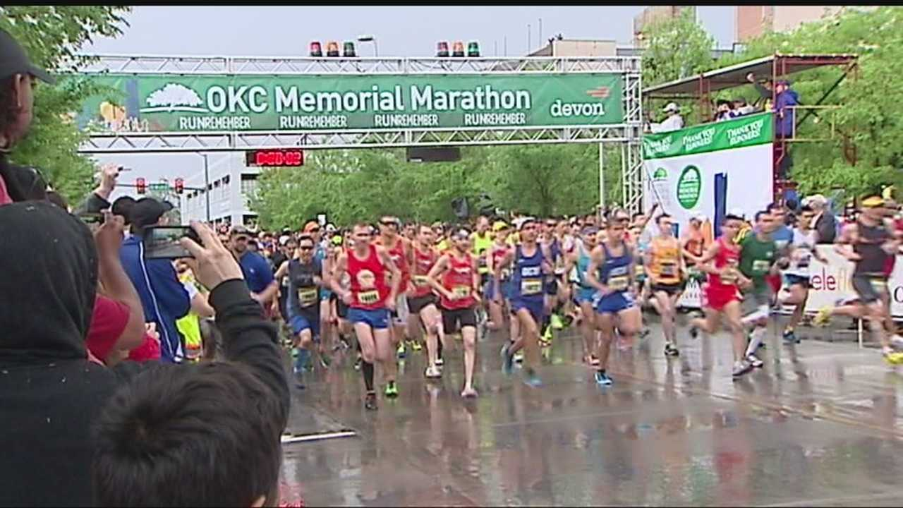 Despite weather delays, Oklahoma City had its 14th annual Memorial Marathon