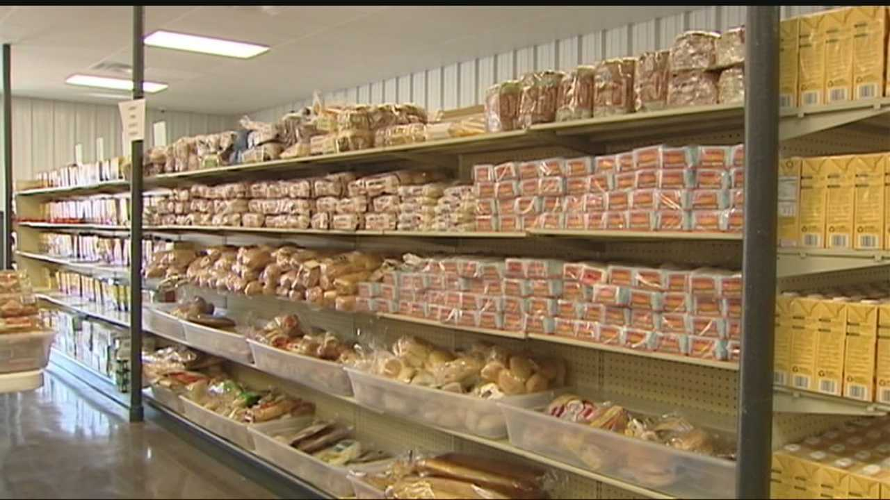 The Food Resource Center sits stacked with free food for the needy, but few are aware of its existence.