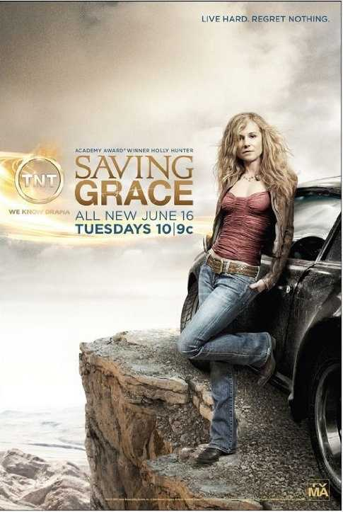 Saving Grace aired on TNT for three seasons from July 23, 2007 until June 21, 2010. The show is set in Oklahoma City and included shots of local buildings and landmarks. Academy Award-winner Holly Hunter starred in the show as a smoking, heavy drinking Oklahoma City detective.