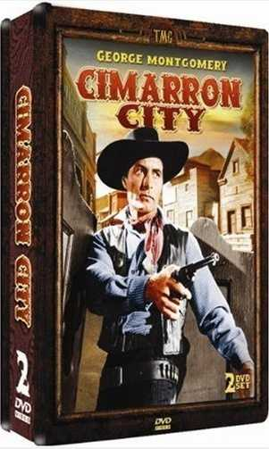 """Cimarron City started George Montgomery and was set in a """"boom town"""" in Logan County. The show aired on NBC from Oct. 11, 1958 until April 4, 1959. The show's setting, Cimmaron City, is rich in gold and oil in this western. The city hoped to become the capital of the future state of Oklahoma in the show."""
