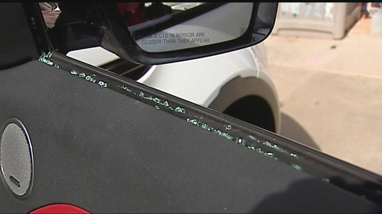 Car burglaries are on the rise while people go to work out, coming back to find busted windows and stolen items.