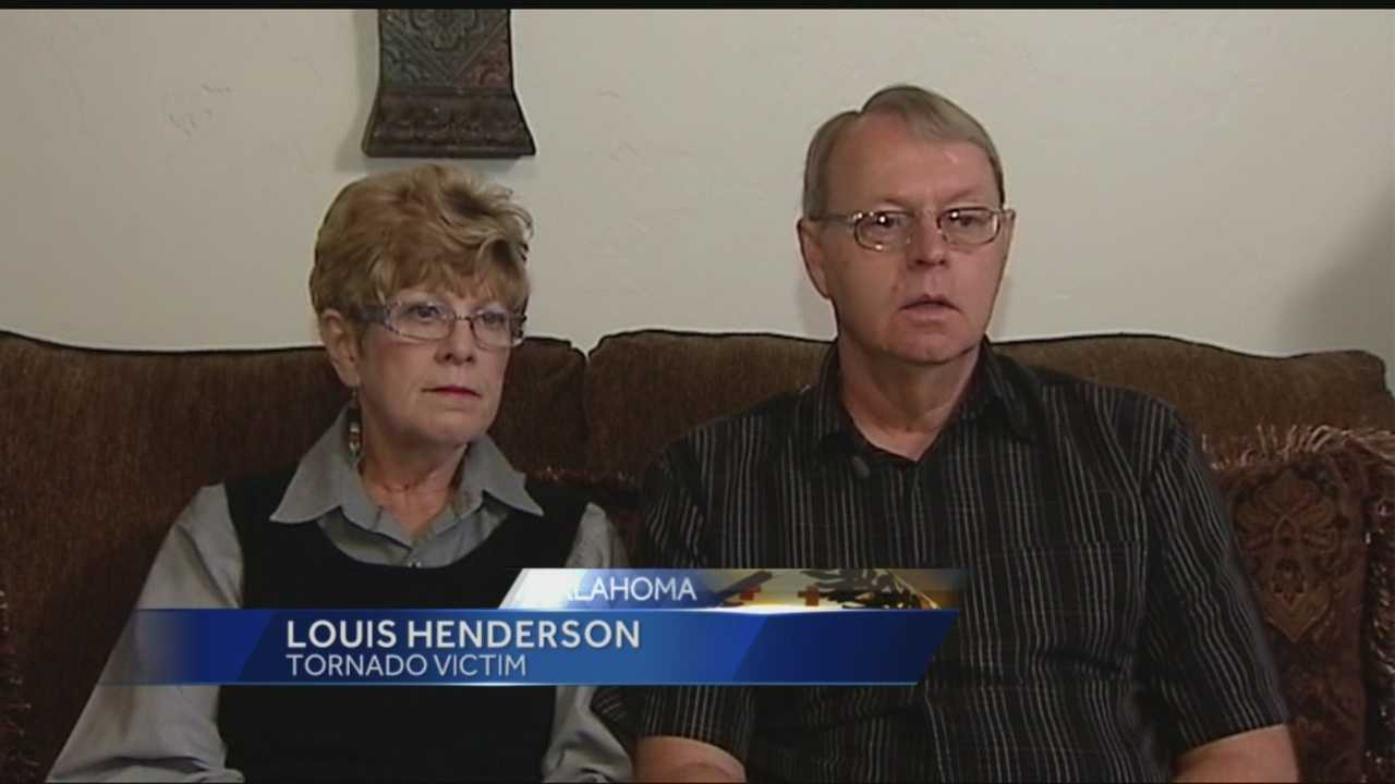 Louis and Cindy Henderson have rebuilt their Moore home and now have a storm shelter thanks to the Red Cross.
