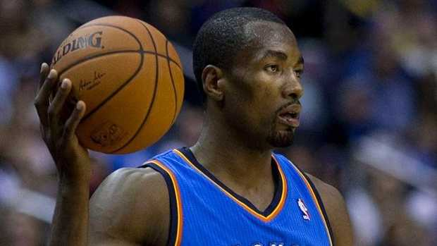 Serge Ibaka. He started on Sunday after injuring his calf during the Clippers series. Click here to read more.
