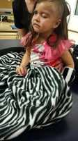Which community came together this week for a 3-year-old named Charlotte Kauley who is recovering from a case of abuse?