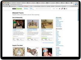 A Kickstarter campaign was created to restart what classic kids' program for an online platform?