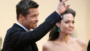 Brad Pitt was punched on the red carpet. Click here to see other celebrities attacked by fans.