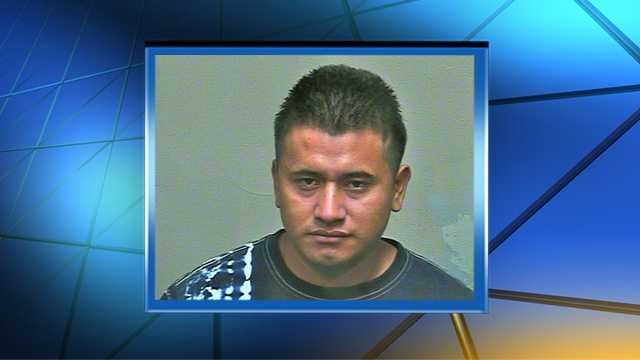 Edwin Lopez was arrested on suspicion of child abuse.