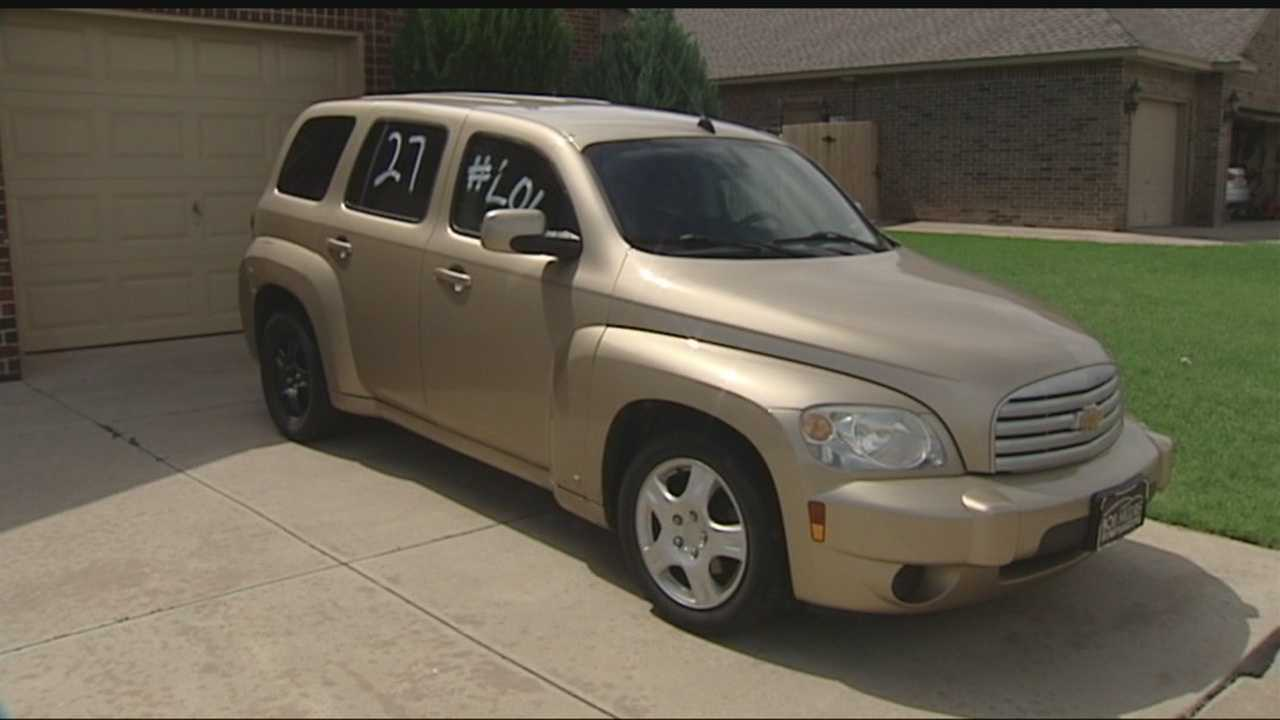 Cars vandalized in Edmond community.