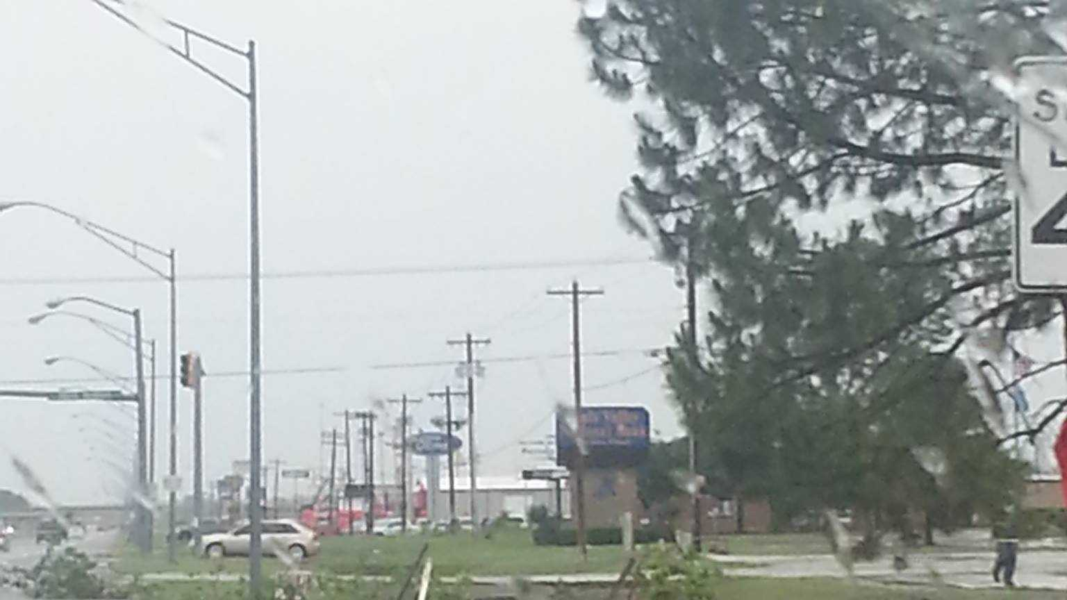 Pauls Valley storm damage