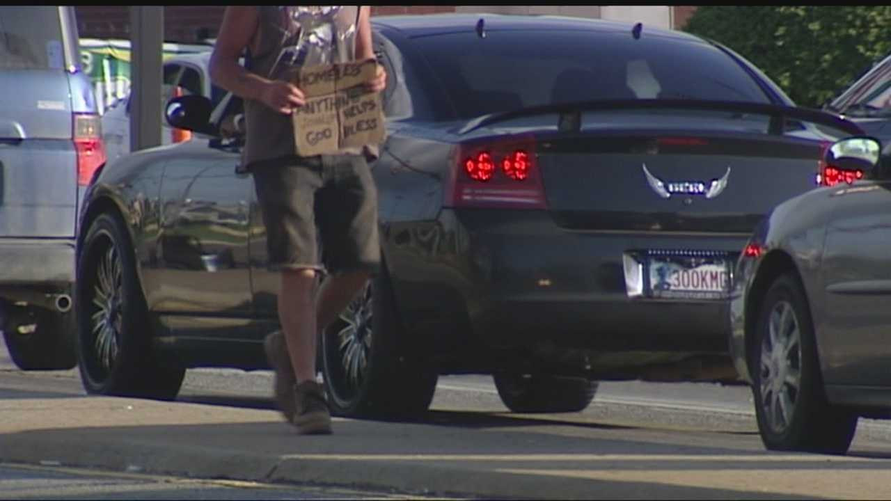Panhandling seems to be more common in Oklahoma City. But now an outreach center and Oklahoma City police are both making attempts to curb the issue.