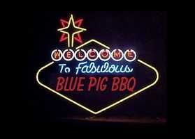 """Blue Pig - 1 vote""""Its the best I have EVER HAD ANYWHERE."""" said Robin D. Weidner."""