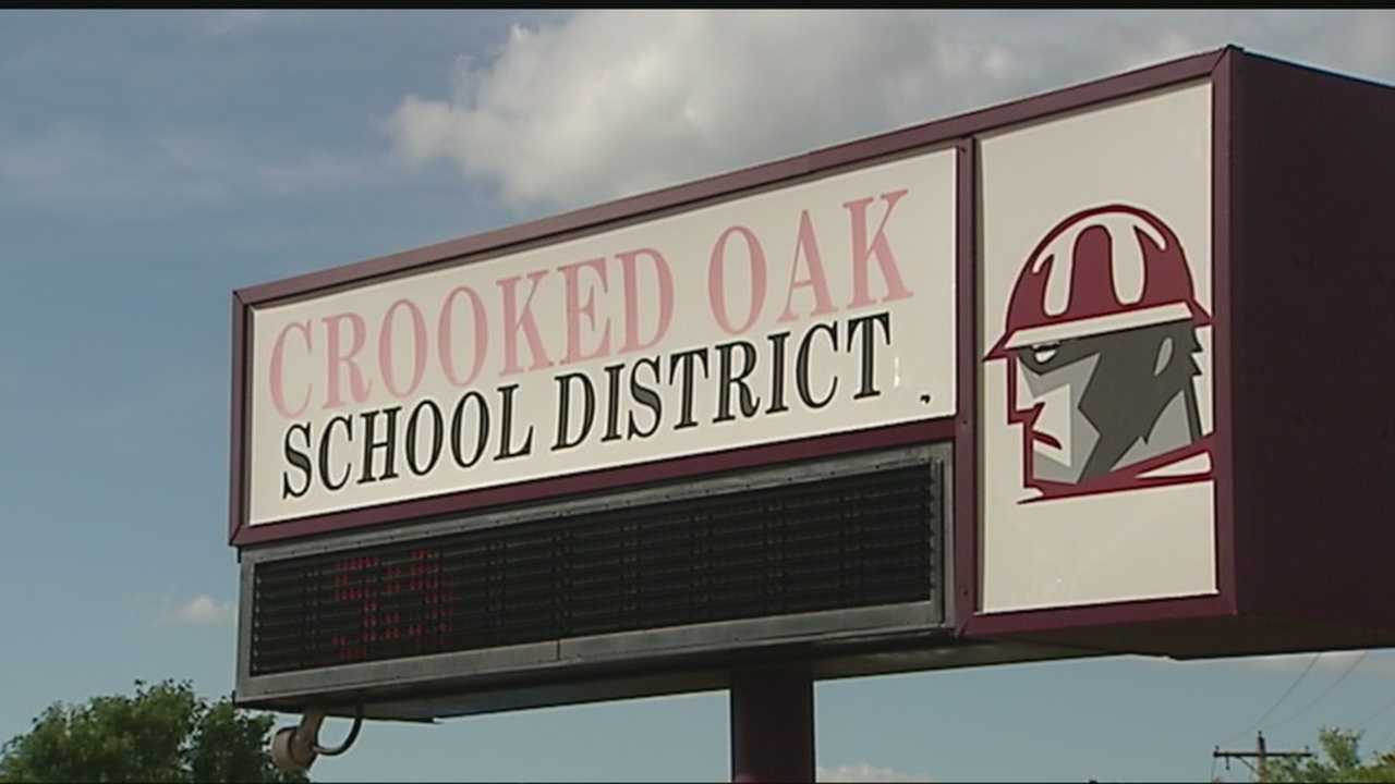 The school board for Crooked Oaks is is in the middle of a fight between members.