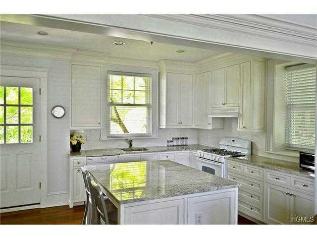The kitchen has granite countertops.