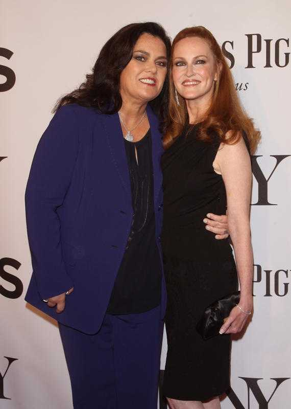 Rosie O'Donnell, left, and her wife, Michelle Rounds, are moving to New Jersey. As a result, the former talk show host is selling four adjacent properties along the Hudson River in Nyack, New York which she purchased between 2002 and 2008, property records show. Click through the slideshow to see photos of the homes.