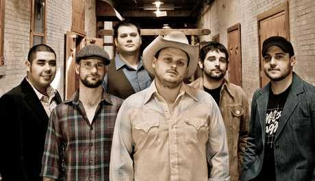 "Josh Abbott BandFavoring a style of country music that owes as much to the band's native Texas as the genre's Nashville headquarters, the Josh Abbott Band began taking shape in 2004. Inspired by the rough-and-tumble ""Texas country"" bands that regularly played the venue, he started writing his own songs and playing them at local bars, using members of his fraternity to form an early incarnation of the Josh Abbott Band.Photo courtesy of OKCFest.com"