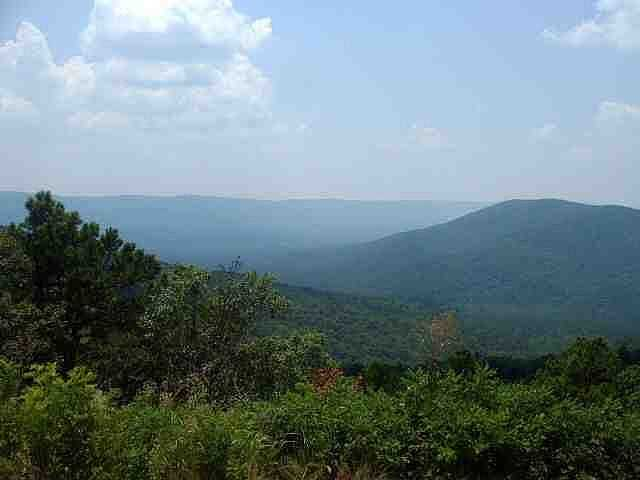 The Kiamichi mountains are located in southeast Oklahoma. They are known for its scenery and its most picturesque areas.