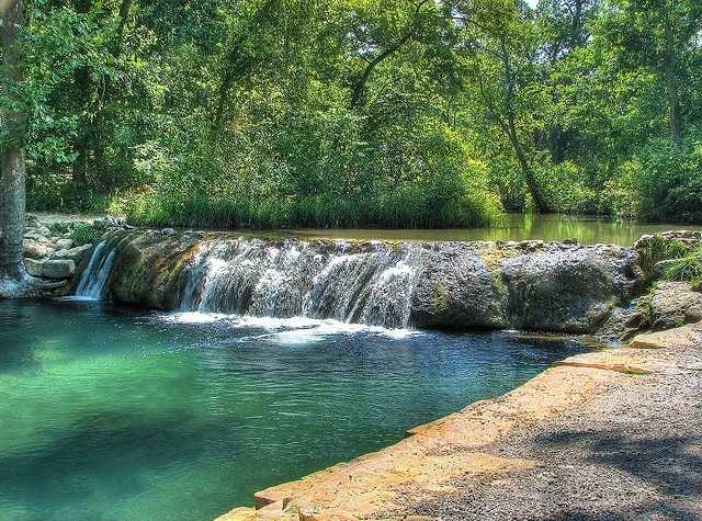 Little Niagra is located in Sulphur and is a beautiful creek located in the Chickasaw National Recreational Area.