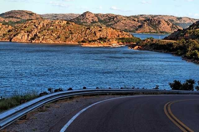 Quartz mountain, in Lone Wolf, is located 17 miles north of Altus in the Wichita Mountains. When visiting you can hike the mountains, go boating on the lake, play a round of golf, explore the Arts Institute or just relax at the lodge.