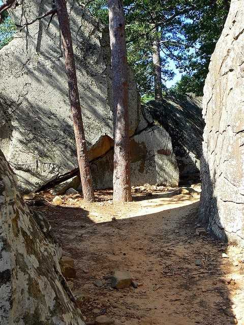 Robber's Cave State Park is located in Southeast Oklahoma, in Wilburton, and is a favorite of rappellers, equestrians, hikers and outdoor lovers.