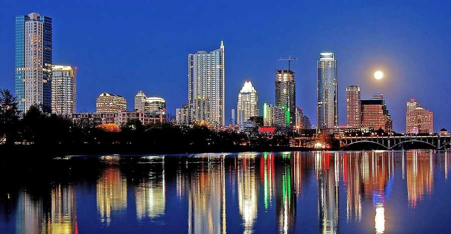 3. Austin ranked number three on the list by being independent and free. They ranked seventh in spend on vets and 14th in the popularity of fireworks category.