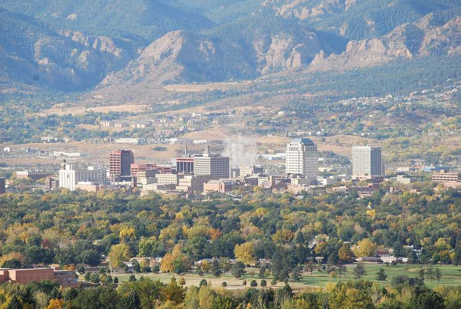 9. Colorado Springs, located under Pike's Peak has a long military involvement history. Ranking number nine overall, they ranked seventh in military population.