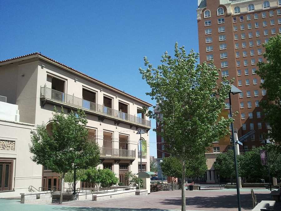 8. El Paso, a blue collar city that has many hardworking patriotic residents, ranked number eight. They ranked eighth in the percentage of the population in the military and second in community and social service workers.