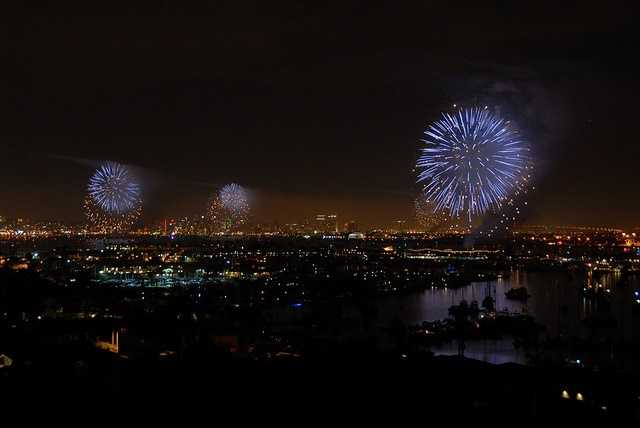 1. San Diego ranks number one on the list with its reputation of being a large military city. Ranking fifth in the total spending on veterans category and popularity of fireworks in July.