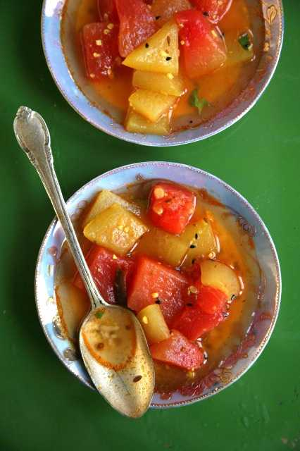 Watermelon Curry: Click to get the recipe