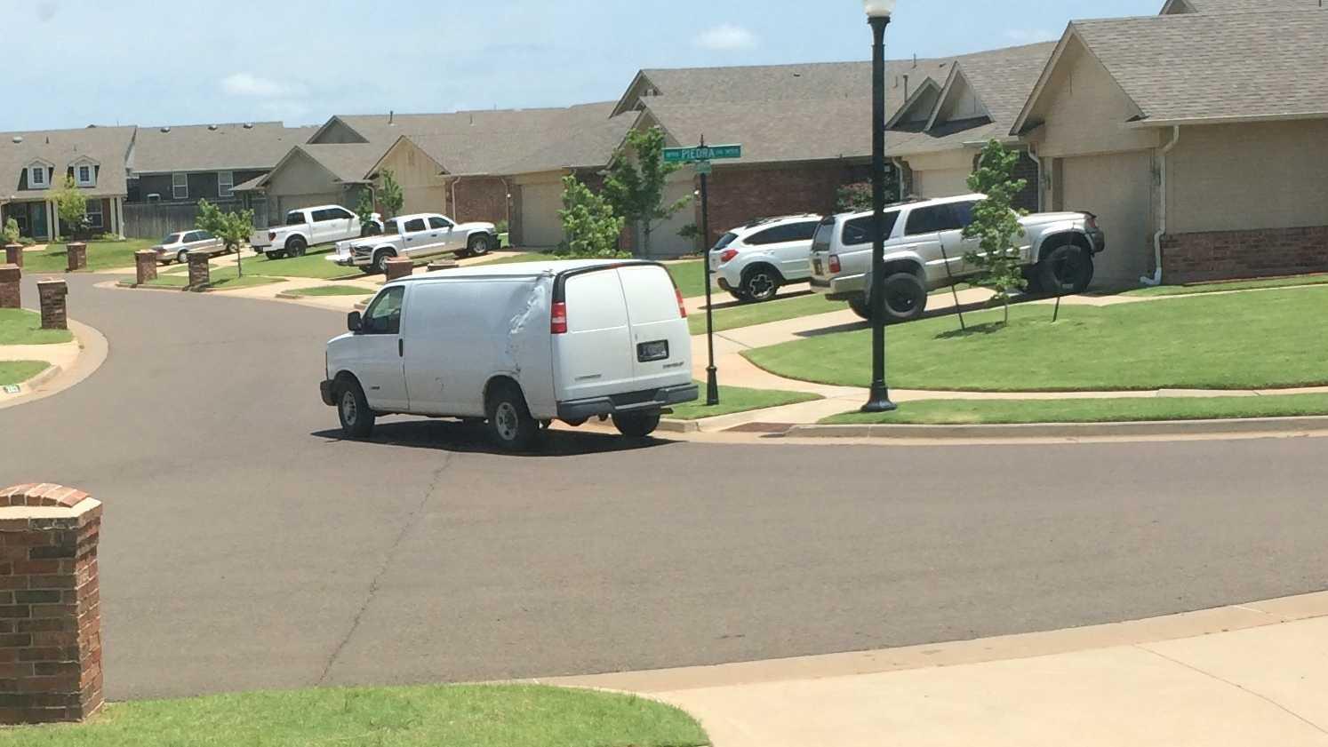 Suspicious van