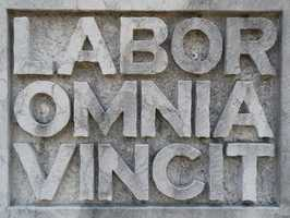 Motto: Labor Omnia Vincit (Labor Conquers All Things)