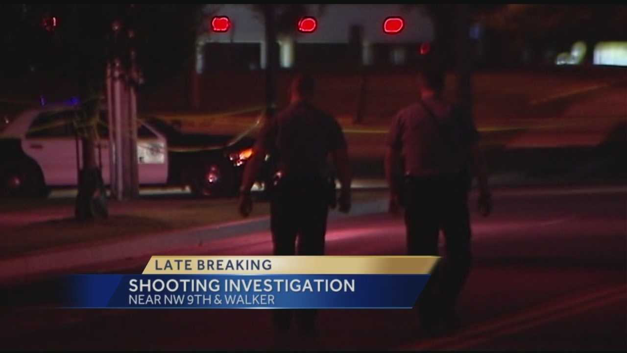 Oklahoma City police are investigating a shooting Tuesday morning.