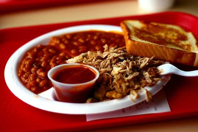 6. Arkansas - 6.9% of all of Arkansas' restaurants are barbecue joints, according to the blog.