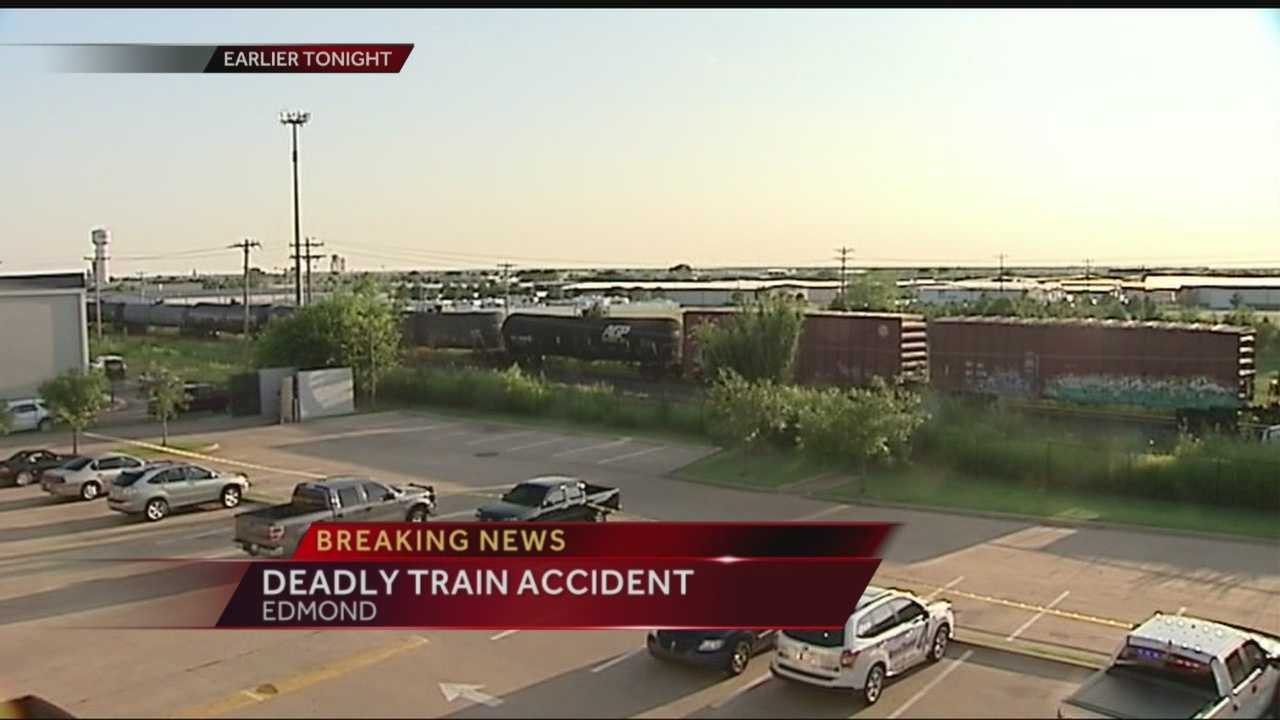 A longtime Edmond Electric employee was struck and killed by a train Tuesday.