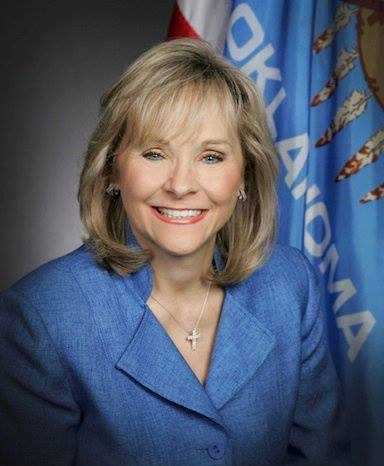 3. Gov. Mary Fallin has 19,075 Twitter followers and 19,871 Facebook fans.