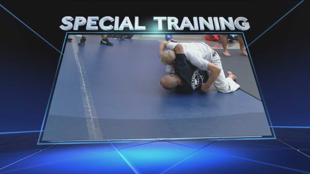 Law enforcement gets hand-to-hand combat training