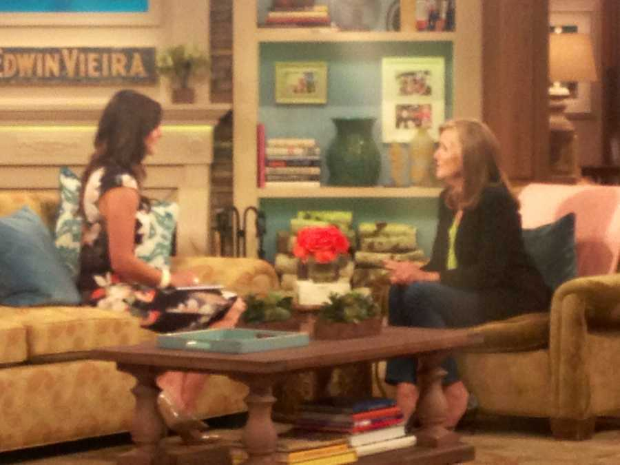 """""""During our interview, Meredith was warm and candid about her show and her career! She's as genuine as they come."""""""