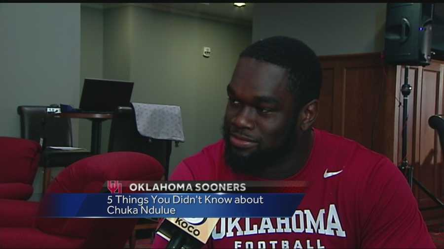 Five things you didn't know about OU Defensive End Chuka Ndulue.