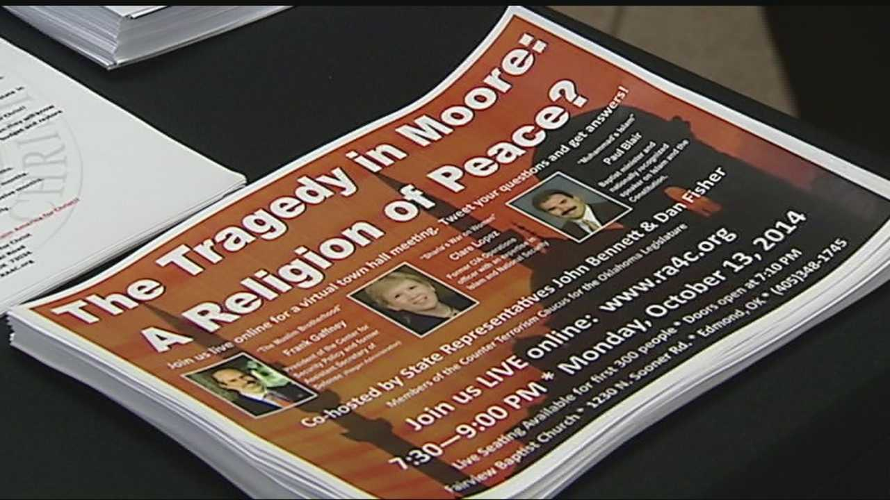 Nationally renowned speakers will talk about recent violence in Moore at Fairview Baptist Church on Monday.