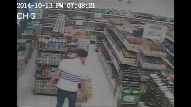Police release video of a man they say robbed three convenience stores at gunpoint.
