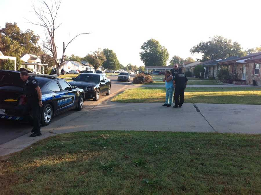 Oklahoma County deputies rounded up fugitivesWednesday. They were serving warrants working toward a goal of greater awareness.