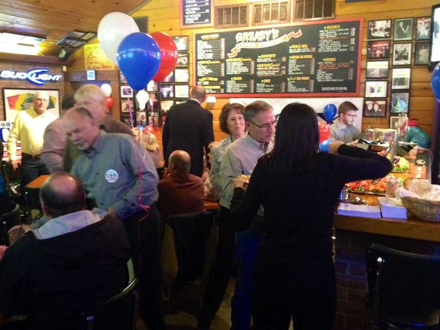 At John Cox's watch party