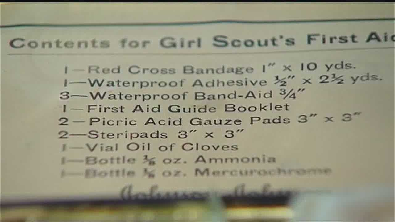 An Edmond woman called the bomb squad when she became concerned over an item she found in an old Girl Scout medical kit.