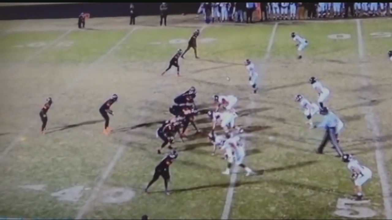 With 1:04 remaining in the game, Douglass scored a go-ahead touchdown that was ultimately called back because of an unusual penalty.